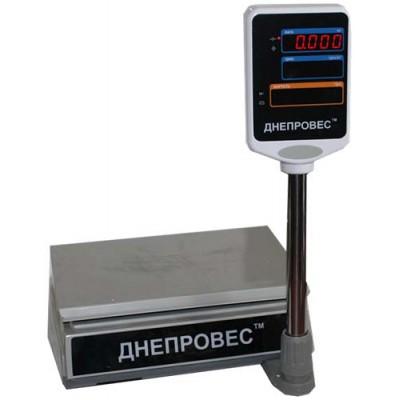 Весы торговые Днепровес ВТД-ЕД (F902H-ED)