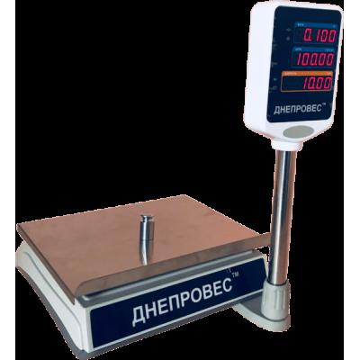 Весы торговые Днепровес ВТД-30ЕД-ПРО