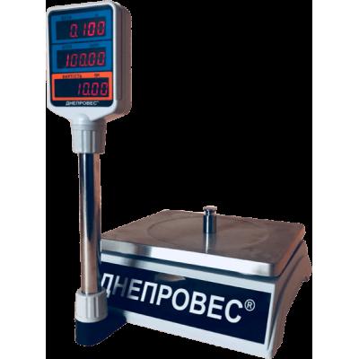 Весы торговые Днепровес ВТД-30Т2-СВ