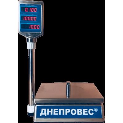 Весы торговые Днепровес ВТД-30ЕЛC (F902H-ECS)