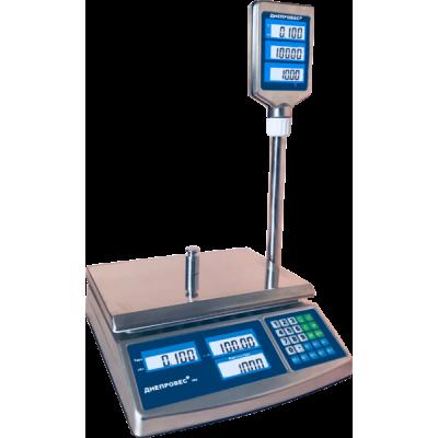 Весы торговые Днепровес ВТД-30СЛC (F902H-EDS)