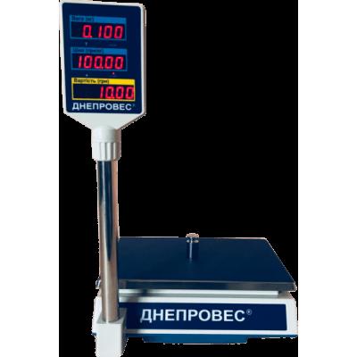 Весы торговые Днепровес ВТД-РС