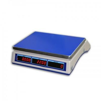 Весы торговые настольные электронные ВТНЕ-1-15Т1 до 15 кг