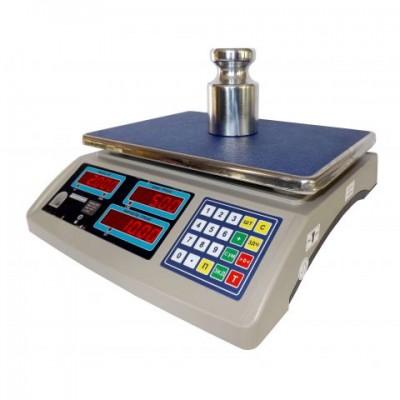 Весы торговые настольные электронные ВТНЕ/2-15Т1 до 15 кг