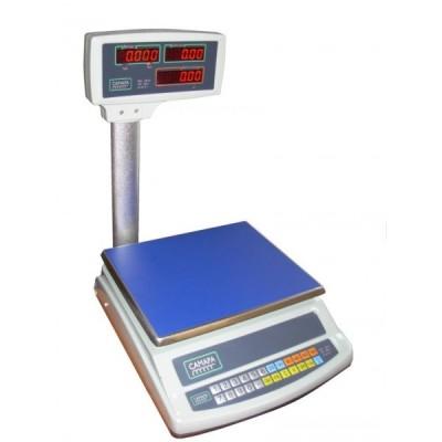 Торговые весы ВТЕ-Центровес-30-Т2-СМ