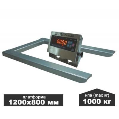 Весы паллетные ЗЕВС ВПЕ-1000-4(Н1208)