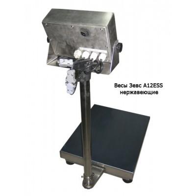 Весы товарные ЗЕВС ВПЕ-300 A12ESS (600х800 мм)