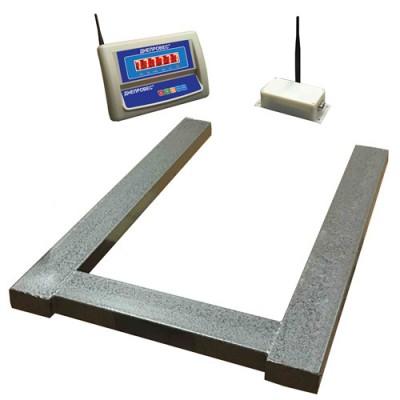 Весы паллетные беспроводные Днепровес ВПД-П-РК до 300 кг