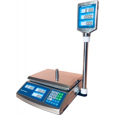 Весы торговые Днепровес ВТД-6СЛС (ECSF902H-6ECS)