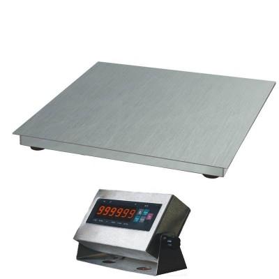 Весы платформенные Зевс ВПЕ-500 (H1212) нержавеющие