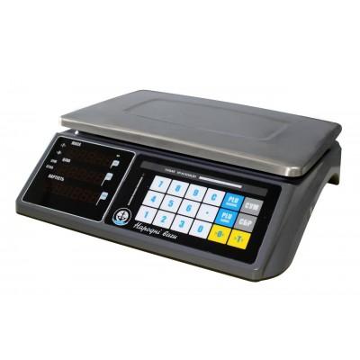 Торговые весы Вагар VP-N-30 RS-232 LCD