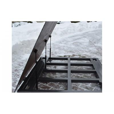 Весы платформенные с откидной платформой 4BDU600-1012ВП-П практичные 1000х1250 мм (до 600 кг)