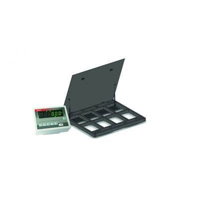 Весы платформенные с откидной платформой 4BDU1500-1212ВП-П практичные 1250х1250 мм (до 1500 кг)