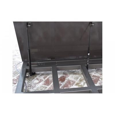 Весы платформенные с откидной платформой 4BDU1500-1215ВП-П практичные 1250х1500 мм (до 1500 кг)