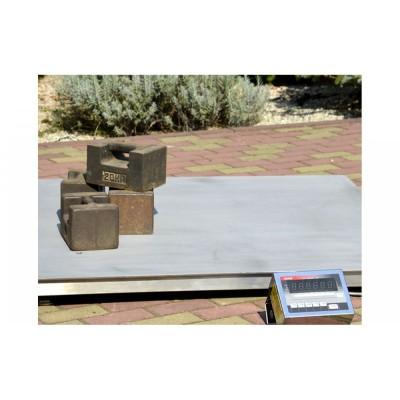 Весы платформенные с откидной платформой 4BDU1500-1212ВП-Э элит 1250х1250 мм (до 1500 кг)