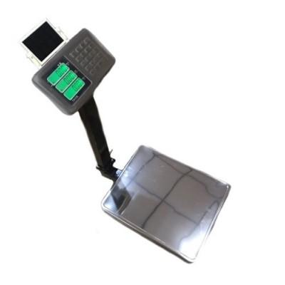 Весы торговые ПРОК ВТ-300-СЛ до 300 кг, дискретность 50 г, 400х500 мм