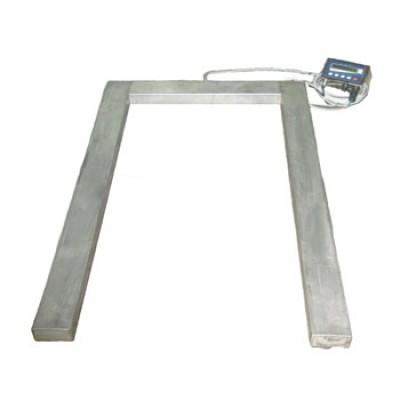 Весы паллетные 3 тонны нержавейка ТВ4-3000-1-U(1200х800х90)-N-12h