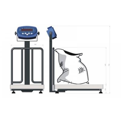 Весы товарные Axis BDU60-0405 М Бюджет (60 кг, 400х566 мм)