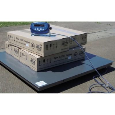 Низкопрофильные четырехдатчиковые весы 4BDU600-1010 бюджет 1000х1000 мм (до 600 кг)