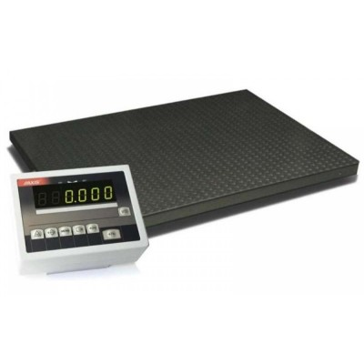 Весы платформенные на 4-х датчиках 4BDU600-1212 практичные 1250х1250 мм (до 600 кг)