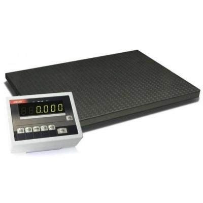 Весы низкопрофильные 1000х1250 мм для взвешивания товаров до 1500 кг 4BDU1500-1012 практичные