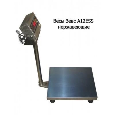 Весы товарные ЗЕВС ВПЕ-600 A12ESS нержавеющие