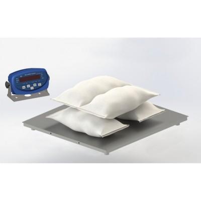 Низкопрофильные весы до 3000 кг 4BDU3000-1212 бюджет 1250х1250 мм