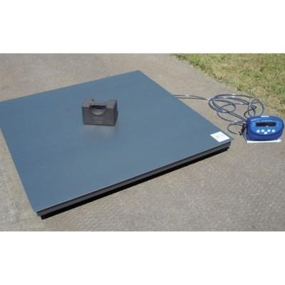 Платформенные весы с платформой 2000х2000 мм 4BDU3000-2020 практичные (до 3000 кг)