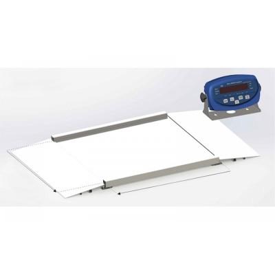 Весы платформенные с пандусами 4BDU1500H БЮДЖЕТ 1250х1250 мм (до 1500 кг)