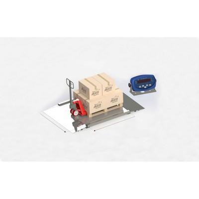Наездные весы для склада с платформой 1250х1500 мм 4BDU2000H БЮДЖЕТ (до 2000 кг)