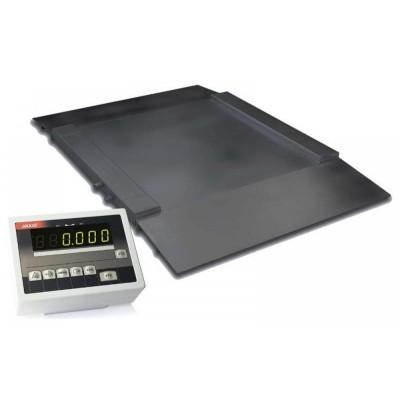 Наездные платформенные весы грузоподъемностью до 600 кг 4BDU600H ПРАКТИЧНЫЕ 1250х1500 мм