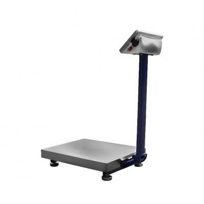 Товарные весы ВИС 150 ВП1-Б (600х800) нержавеющая платформа