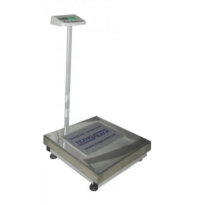 Весы напольные промышленные до 200 кг ТВ1-200-50-(800х800)-S-12ер
