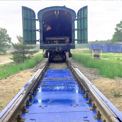 Весы вагонные на 150 тонн взвешивание в статике «150ВВС'