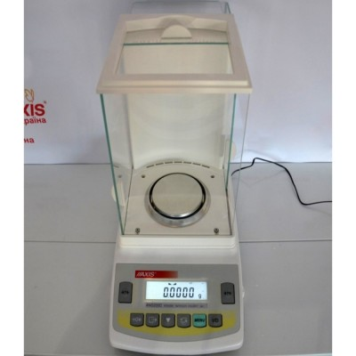 Весы аналитические Axis ANG 220C до 220 г, дискретность 0,0001 г