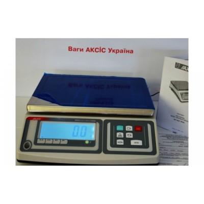 Весы лабораторные Axis BDM30 до 30000 г, дискретность 1 г