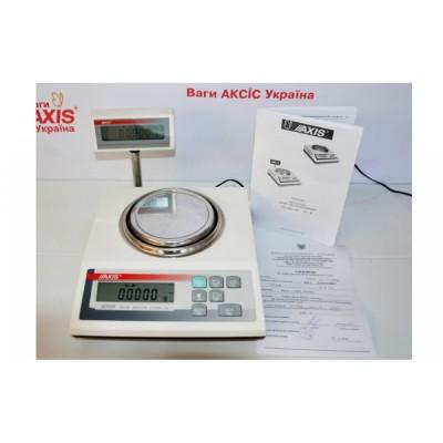 Весы ювелирные Axis AD50R до 50 г, дискретность 0,0005 г