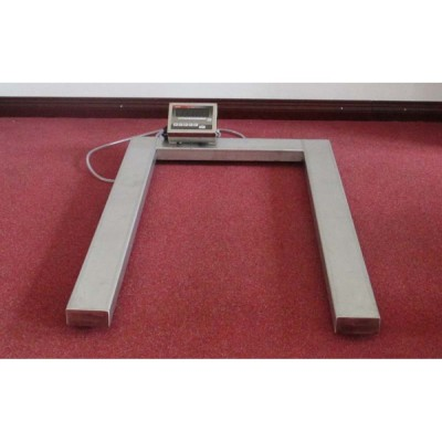 Паллетные весы под штабелер 4BDU-П (1260х840мм) НПВ: 1500кг ЭЛИТ