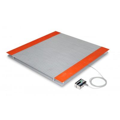 Весы 4-датчиковые платформенные ТВ4-2000-0,5-(2000х1500)-12