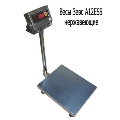 Весы товарные ЗЕВС ВПЕ-500 A12ESS (600х800 мм)