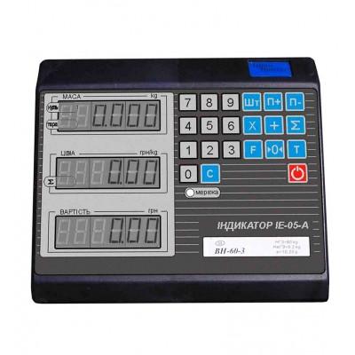 Весы электронные товарные ВН-150-1D-3-А (ЖКИ) (500х600)