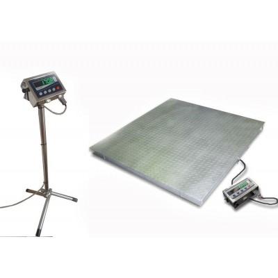 Весы Техноваги с влагозащитой ТВ4-1000-0,5-(2000х1500)-12h