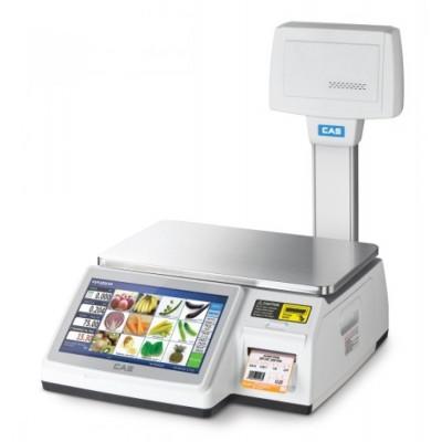 Весы торговые CAS-CL 7200-U до 15 кг