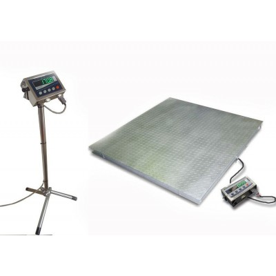 Весы влагозащитные Техноваги ТВ4-600-0,2-(1250х1250)-12h