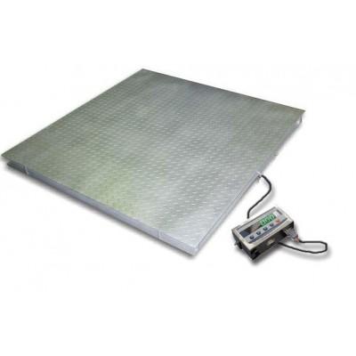 Напольные низкопрофильные весы ТВ4-3000-1-(1250х1250)-12h