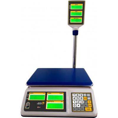 Торговые настольные весы РС30-ТС