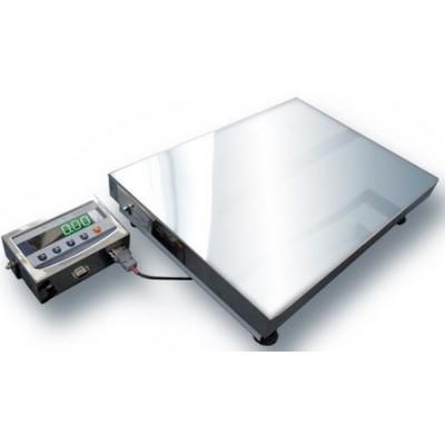 Товарные нержавеющие электронные весы ТВ1-60-10-(400х400)-N-12еh