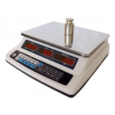 Весы торговые настольные электронные ВТНЕ-15Т1-3