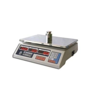 Весы торговые настольные электронные ВТНЕ-15Т1-2
