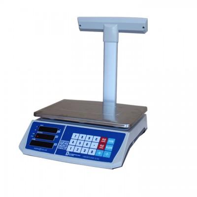 Весы торговые настольные электронные со стойкой на 3 кг и подключением к ПК или кассовому аппарату 3(С) з RS23